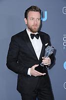 11 January 2018 - Santa Monica, California - Ewan McGregor. 23rd Annual Critics' Choice Awards held at Barker Hangar. <br /> CAP/ADM/BT<br /> &copy;BT/ADM/Capital Pictures