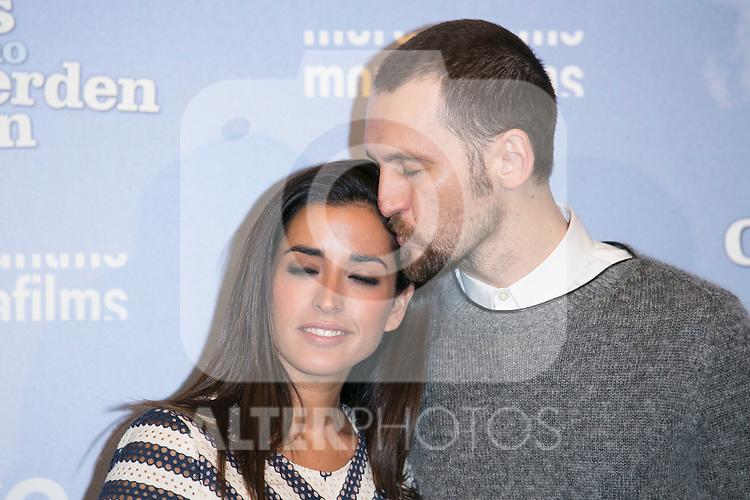 """Inma Cuesta and Raul Arevalo attends the """"Las Ovejas No Pierden El Tren"""" Presentation at Palafox Cinema, Madrid,  Spain. January 27, 2015.(ALTERPHOTOS/)Carlos Dafonte)"""
