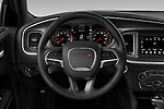 Car pictures of steering wheel view of a 2019 Dodge Charger SXT 4 Door Sedan