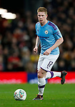 Kevin De Bruyne of Manchester City during the Carabao Cup match at Old Trafford, Manchester. Picture date: 7th January 2020. Picture credit should read: Darren Staples/Sportimage