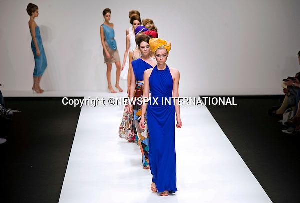 "ISSA (Kate Middleton's Favourite Designer).London Catwalk Show Spring-Summer Collection 2011, Somerset House, London_21/09/2010.Mandatory Credit Photo: ©DIAS-NEWSPIX INTERNATIONAL..**ALL FEES PAYABLE TO: ""NEWSPIX INTERNATIONAL""**..IMMEDIATE CONFIRMATION OF USAGE REQUIRED:.Newspix International, 31 Chinnery Hill, Bishop's Stortford, ENGLAND CM23 3PS.Tel:+441279 324672  ; Fax: +441279656877.Mobile:  07775681153.e-mail: info@newspixinternational.co.uk"