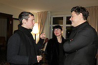 October 11, 2012 - Montreal. Quebec , Canada - Launch of TOP QUEBEC fashion magazine first issue at Saint-Sulpice Hotel