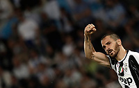 Calcio, Tim Cup: finale Juventus vs Lazio. Roma, stadio Olimpico, 17 maggio 2017.<br /> Juventus&rsquo; Leonardo Bonucci celebrates after scoring during the Italian Cup football final match between Juventus and Lazio at Rome's Olympic stadium, 17 May 2017.<br /> UPDATE IMAGES PRESS/Isabella Bonotto