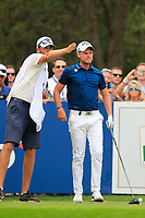 Danny Willett (ENG) on the 16th tee during the 3rd round of the DP World Tour Championship, Jumeirah Golf Estates, Dubai, United Arab Emirates. 17/11/2018<br /> Picture: Golffile | Fran Caffrey<br /> <br /> <br /> All photo usage must carry mandatory copyright credit (&copy; Golffile | Fran Caffrey)