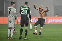 Pitch invasion, Cristiano Ronaldo Juventus, Giangiacomo Magnani Sassuolo.<br /> Reggio Emilia 10-2-2019 Stadio Mapei, Football Serie A 2018/2019 Sassuolo - Juventus<br /> Foto Andrea Staccioli / Insidefoto