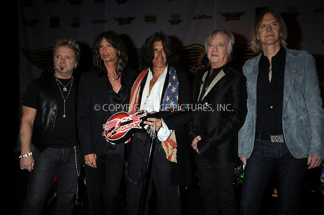 WWW.ACEPIXS.COM . . . . .....June 27, 2008. New York City,....Aerosmith launches the Aerosmith edition of the video game 'Guitar Hero' at the Hard Rock Cafe on June 27, 2008 in New York City...  ....Please byline: Kristin Callahan - ACEPIXS.COM..... *** ***..Ace Pictures, Inc:  ..Philip Vaughan (646) 769 0430..e-mail: info@acepixs.com..web: http://www.acepixs.com