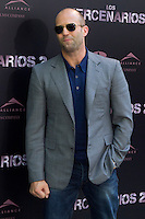08.08.2012. Presentation at the Hotel Ritz in Madrid of the film ´The Expendables 2´. Directed by Simon West and starring by  Bruce Willis, Jean-Claude Van Damme  , Sylvester Stallone, Jason Statham, Jet Li, Dolph Lundgren, Randy Couture, Terry Crews and Liam Hemsworth. In the image Jason Statham (Alterphotos/Marta Gonzalez) / NortePhoto.com<br />