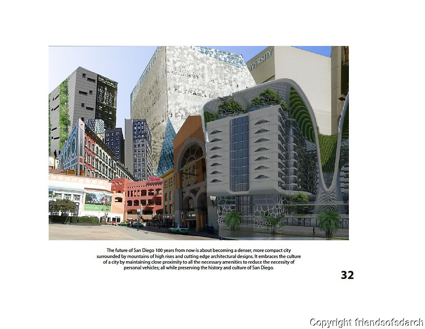 Entry for Carlos Casas, NSAD. FSDA Collage Competition 2015. The collage portrays a denser, compact city with cutting edge designs.