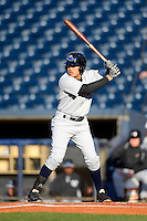 Trenton Thunder outfielder Ramon Flores #20 during a game against the Akron Aeros on April 22, 2013 at Canal Park in Akron, Ohio.  Trenton defeated Akron 13-8.  (Mike Janes/Four Seam Images)