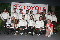 LOS ANGELES - APR 1:  Celebrity Racers at the Toyota Grand Prix of Long Beach Pro/Celebrity Race Press Day at Long Beach Grand Prix Raceway on April 1, 2014 in Long Beach, CA