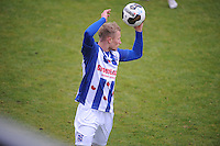 VOETBAL: HEERENVEEN: 09-11-2016, Sportpark Skoatterwâld, SC Heerenveen - FC Volendam, uitslag 2-1, Doke Schmidt, ©foto Martin de Jong
