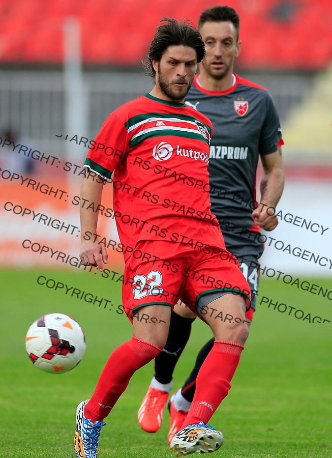Fudbal Jelen Super League season 2014-2015 <br /> Donji Srem v Crvena Zvezda<br /> Milos Bogunovic (L) and Savo Pavicevic<br /> Novi Sad, 29.04.2015.<br /> foto: Srdjan Stevanovic/Starsportphoto&copy;