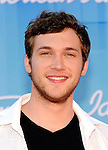 Phillip Phillips - winner of 2012 American Idol arriving for the show.