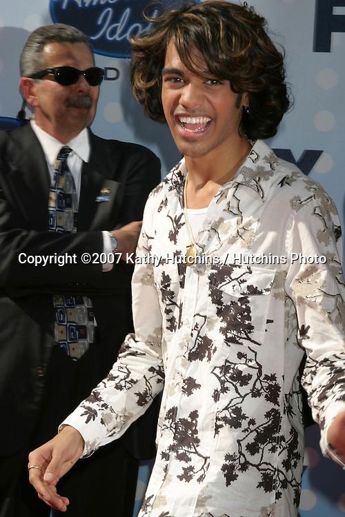 Sanjaya Malakar.American Idol Finale  Season 6.Kodak Theater.Los Angeles, CA.May 23, 2007.©2007 Kathy Hutchins / Hutchins Photo