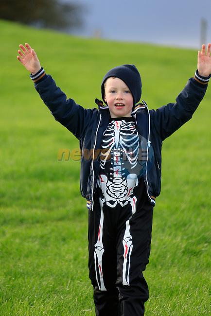 Nathan Kenny at the fancy dress in Slane<br /> Picture: Fran Caffrey www.newsfile.ie