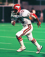 Phil Charron Calgary Stampeders 1984. Photo Scott Grant