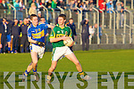 James Walsh © Kerry gets the better of Paddy Dalton (C Tipperary) in the Munster GAA - ESB Minor Football Championshiop Quarter Final 2010 in Austin Stack Park, TYralee on Wednesday evening.................................. ....