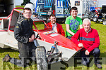 James Lucey, William, Edward and Bill Meade Keel who competed in the Killarney Autocross in Muckross on Sunday