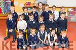 Adrienne Heaslip's Junior Infant Class at Caherleaheen NS.<br /> Back row Left to Right: Harry Diggins, Sophia Polak, Dylan Healy, Ms. Adrienne Heaslip, Eddie Carmody, Raymond Goubran, Shauna Donovan, <br /> Middle left to right: Tadgh Lynch, Ryan Egan Moynihan, Conor Thomas, Corin Krajnak, Fion&aacute;n O Callaghan, Gavin O Sullivan<br /> Front left to right: Conor Fleming, Rub&eacute;n Rivas McHugh, Shauna Kennan, Emma O Donoghue, Saoirse Moynihan