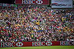 Argentina vs Japan during the HSBC Sevens Wold Series match of the Cathay Pacific / HSBC Hong Kong Sevens at the Hong Kong Stadium on 28 March 2015 in Hong Kong, China. Photo by Victor Fraile / Power Sport Images