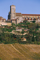Europe/France/89/Yonne/Vézelay : Le village et le vignoble