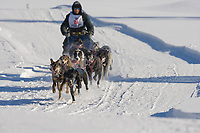 Musher Gary Markley, 2007 Open North American Championship sled dog race (the world's premier sled dog sprint race) is held annually in Fairbanks, Alaska.