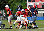St. Martin's Episcopal and Country Day battle in Middle School Football at Country Day.  St. Martin's went on to defeat Country Day, 24-0.