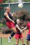 29 July 2006: Abby Wambach. The United States Women's National Team trained at SAS Soccer Park in Cary, North Carolina, in preparation for an International Friendly match against Canada to be played on Sunday, July 30.