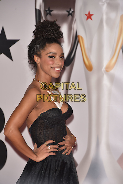 LONDON, ENGLAND - FEBRUARY 24: Lianne La Havas attends the BRIT Awards 2016 at The O2 Arena on February 24, 2016 in London, England<br /> CAP/PL<br /> &copy;Phil Loftus/Capital Pictures