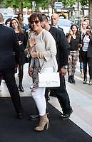 Kris Jenner & Bruce Jenner at the George V hotel in paris