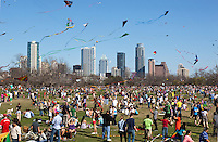 Zilker Park Kite Festival - Stock Photo Image Gallery