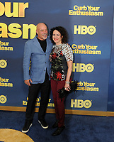www.acepixs.com<br /> <br /> September 27 2017, New York City<br /> <br /> Jim Harder and actress/ comedian Susie Essman arriving at the premiere of Season 9 of 'Curb Your Enthusiasm' at the SVA Theater on September 27, 2017 in New York City. <br /> <br /> By Line: William Jewell/ACE Pictures<br /> <br /> <br /> ACE Pictures Inc<br /> Tel: 6467670430<br /> Email: info@acepixs.com<br /> www.acepixs.com