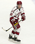 Adam Fox (Harvard - 18) - The Harvard University Crimson defeated the Providence College Friars 3-0 in their NCAA East regional semi-final on Friday, March 24, 2017, at Dunkin' Donuts Center in Providence, Rhode Island.