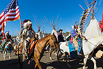 The Indian Village at the Pendleton Round Up Rodeo, Pendleton OR, USA