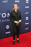 6 June 2019 - Hollywood, California - Jodie Foster. The American Film Institute's 47th Life Achievement Award Gala Tribute To Denzel Washington  held at Dolby Theatre.    <br /> CAP/ADM/FS<br /> ©FS/ADM/Capital Pictures