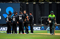 Bazar Azam walks off after being dismissed by Tim Southee during the One Day International cricket match between the NZ Black Caps and Pakistan at the Basin Reserve in Wellington, New Zealand on Saturday, 6 January 2018. Photo: Dave Lintott / lintottphoto.co.nz