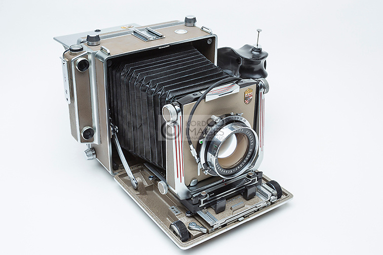 LINHOF SUPER TECHNIKA IV LARGE FORMAT RANGE FINDER FILM VIEW CAMERA (©LINHOF GMBH 1956)