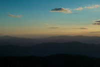 Early morning sky from Clingman's Dome, Great Smoky Mountains National Park