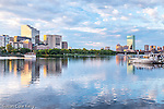 A summer morning on the Charles River, Boston, Massachusetts, USA