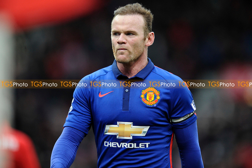 Wayne Rooney of Manchester United - Stoke City vs Manchester United - Barclays Premier League Football at the Britannia Stadium, Stoke-on-Trent - 01/01/15 - MANDATORY CREDIT: Greig Bertram/TGSPHOTO - Self billing applies where appropriate - contact@tgsphoto.co.uk - NO UNPAID USE