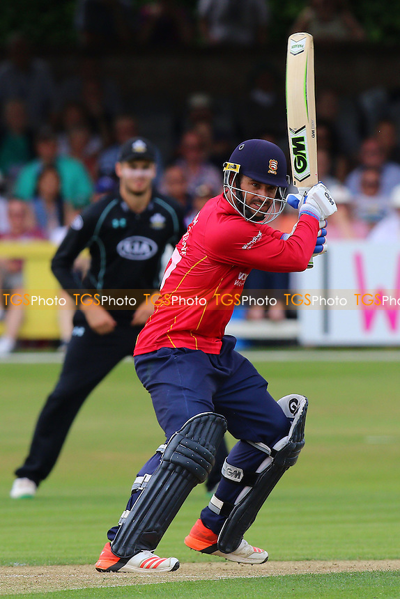 Ryan ten Doeschate in batting action for Essex during Essex Eagles vs Surrey, Royal London One-Day Cup Cricket at the Essex County Ground on 24th July 2016