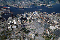 1989 May 30..Redevelopment..Macarthur Center.Downtown North (R-8)..LOOKING SOUTHWEST...NEG#.NRHA#..