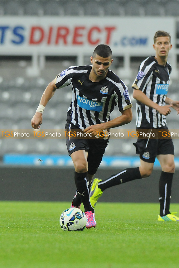 Mehdi Abied of Newcastle United - Newcastle United Under-21 vs Wolverhampton Wanderers Under-21 - Barclays Under-21 Premier League Football at St James' Park, Newcastle upon Tyne - 15/09/14 - MANDATORY CREDIT: Steven White/TGSPHOTO - Self billing applies where appropriate - contact@tgsphoto.co.uk - NO UNPAID USE