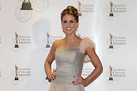 12/2/11 Amy Huberman on the red carpet at the 8th Irish Film and Television Awards at the Convention centre in Dublin. Picture:Arthur Carron/Collins