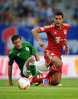 FUSSBALL   1. BUNDESLIGA   SAISON 2012/2013   LIGA TOTAL CUP  FC Bayern Muenchen - SV Werder Bremen       04.08.2012 Zlatko Junuzovic (li, SV Werder Bremen)  gegen Emre Can (re, FC Bayern Muenchen)