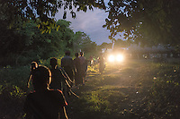 March 28, 2016 - Wainyapu (Indonesia). Hundreds of members of the families of the villagers flock into Wainyapu the night before the beginning of the Pasola. The festival is not only a religous tradition, but it also represents a unique social opportunity for the families to stay together. © Thomas Cristofoletti / Ruom
