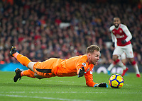 Robert Elliot of Newcastle United in action during the Premier League match between Arsenal and Newcastle United at the Emirates Stadium, London, England on 16 December 2017. Photo by Vince  Mignott / PRiME Media Images.