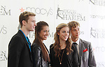 Jeremy Abbott - Alissa Czisny - Ashley Wagner - Adam Rippon - The 2012 Skating with the Stars  - a benefit gala for Figure Skating in Harlem celebrating 15 years on April 2, 2012 at Central Park's Wollman Rink, New York City, New York.  (Photo by Sue Coflin/Max Photos)