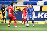 20.06.2020, xmeix, 1.Fussball Bundesliga, TSG 1899 Hoffenheim - 1.FC UNion Berlin, empor. v.l.n.r, <br /> Anthony Ujah (1.FC Union Berlin) gegen Dennis Geiger (TSG 1899 Hoffenheim)<br /> <br /> <br /> <br /> Foto: Sascha Meiser/APF/Pool/PIX-Sportfotos<br /> <br /> Nur für journalistische Zwecke!<br /> Only for editorial use!<br /> Nutzungsbedingungen: http://poolbilder.de/nutzungsvereinbarung.pdf