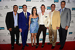 MIAMI BEACH, FL - JUNE 18: Jeremy Bedzoo, Chad Carroll, Samantha DeBianchi, Christopher Leavitt, Warren Henry Zinn and Erik Day attends Million Dollar Listing Miami Season One VIP Premiere Party at Nikki Beach on June 18, 2014 in Miami Beach, Florida. (Photo by Johnny Louis/jlnphotography.com)